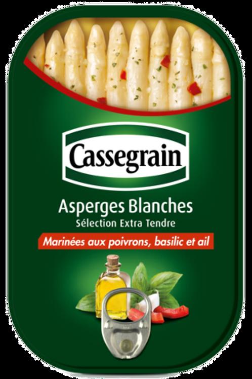 Marinated white Asparagus / Asperges blanches marinées Cassegrain 210g