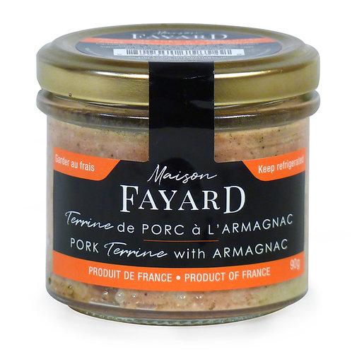 Pork Terrine with Armagnac 90g - MAISON FAYARD