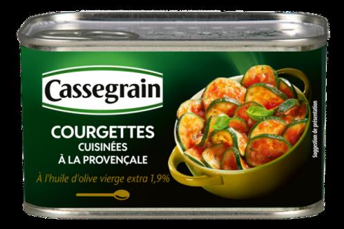 Provençale cooked Zucchinis / Courgettes à la Provençale Cassegrain 400g