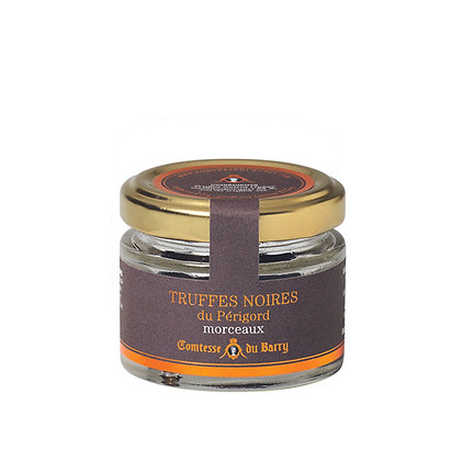 Black truffles pieces Comtesse du Barry 12,5g