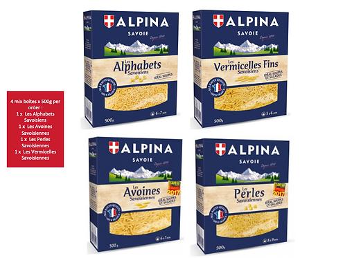 Mix Savoisiennes 4 x 500g - ALPINA