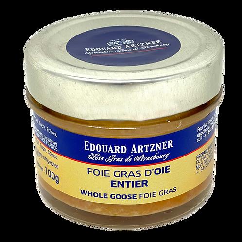Whole Goose Foie Gras / Foie Gras d'Oie Entier Edouard Artzner 100g