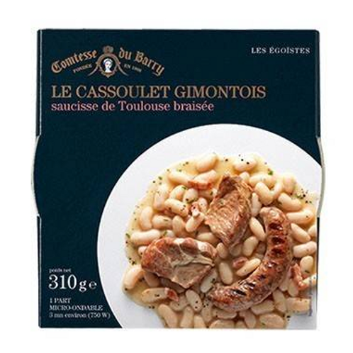Cassoulet Gimontois with grilled Toulouse sausage 310g