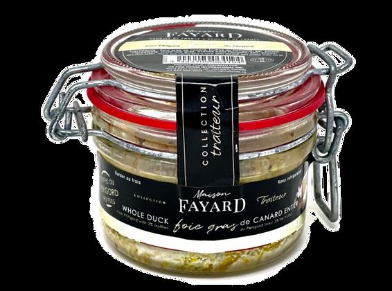 Whole duck foie gras with truffes Maison Fayard