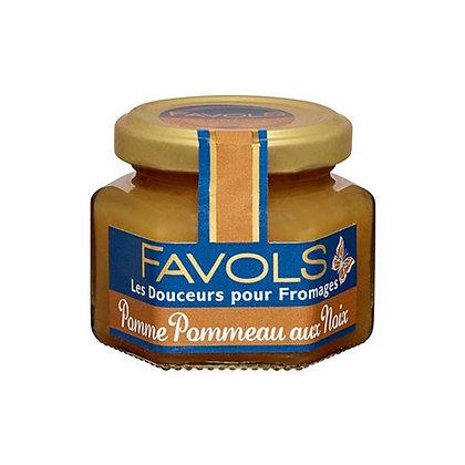 Apple Pommeau with nuts confit Favols 110g