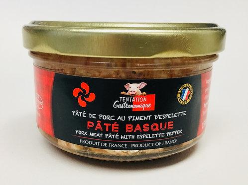 Pork Meat Pâté with Espelette Pepper 150g- TENTATION GASTRONOMIQUE