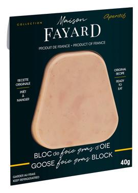 Duck Foie Gras Block Mono Tranche Apéritif 40g