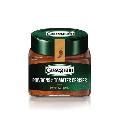 Sweet Pepper and Cherry Tomatoe Tartinade Cassegrain 100g