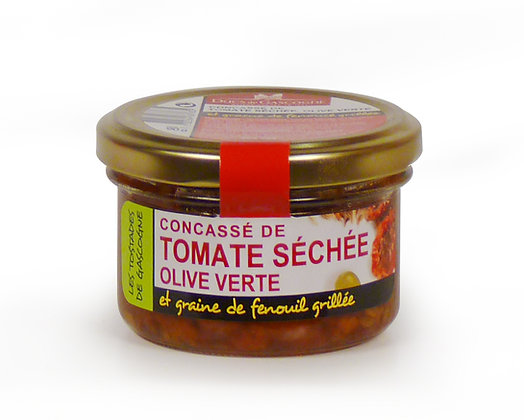 Dried tomatoe crushed with green olive Ducs de Gascogne 90g