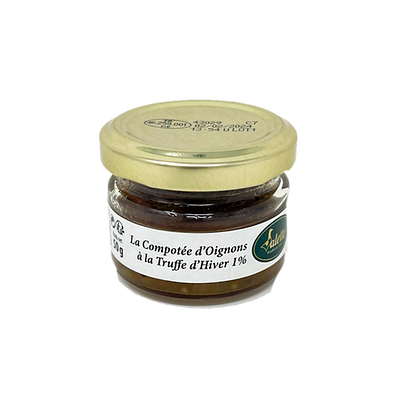 Onions confit with winter truffle Valette 50g