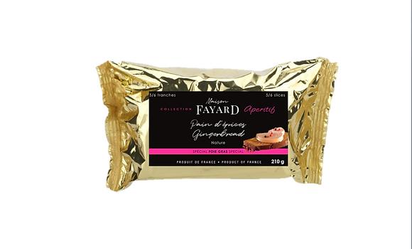 Classic Gingerbread Maison Fayard 210g x 2