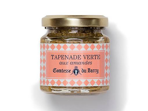 Green tapenade with almonds 100g