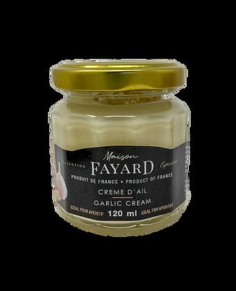 Garlic cream Maison Fayard 120 ml