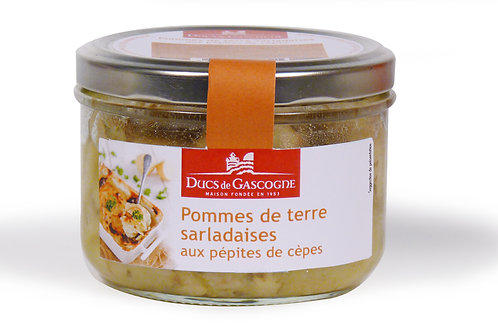 Salardaises Potatos with ceps 90g - DUCS DE GASCOGNE