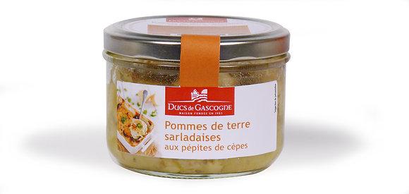 Pommes de terre Sarladaises aux cèpes Duc de Gascogne 90g