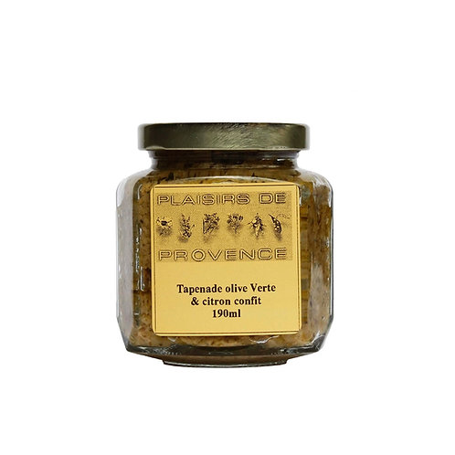 Tapenade Olives Verte / Green Olives 190ml