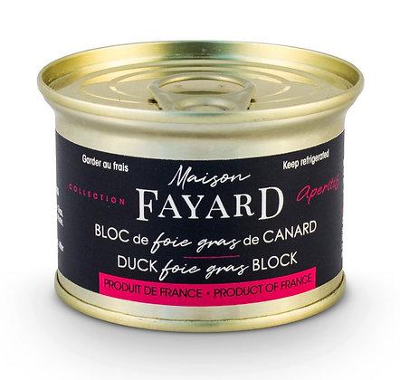 Bloc de foie gras de canard à l'armagnac Maison Fayard 120g