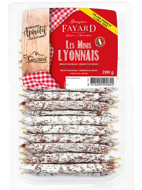 Saucisson Sec / Dry Sausage Les Minis Lyonnais 200g - Buy one, get one free