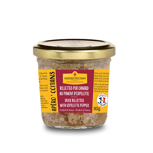Duck Rillettes with Espelette Pepper 90g