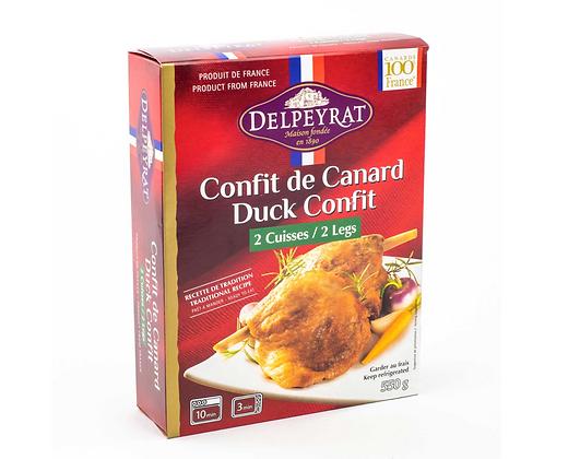 2 legs duck confit Delpeyrat 250g