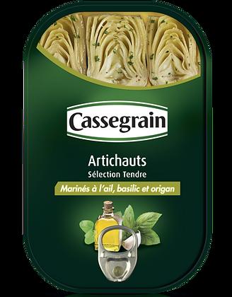 Artichauts marinés Cassegrain 210g