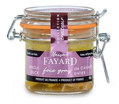 Foie gras de canard entier Maison Fayard 90g