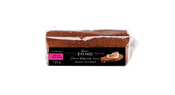 Classic gingerbread Maison Fayard 2 x 120g