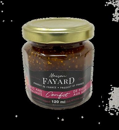 Figs and walnuts confit Maison Fayard 120 ml