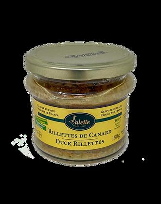 Duck rillettes Valette 180g