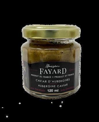 Caviar d'aubergines Maison Fayard 120 ml