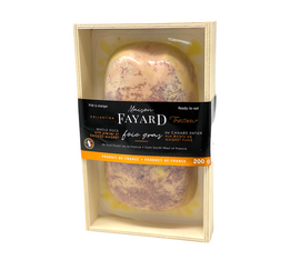 Whole Duck Foie Gras with smoked duck Breast 200g