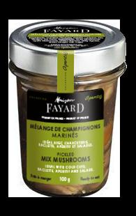 Pickled Mix Mushrooms Maison Fayard 100g