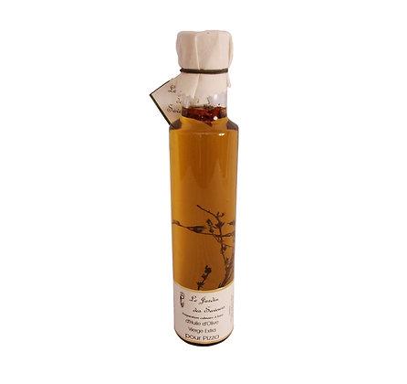 Huile d'olive pesto basilic / Basilic pesto huile d'olive 250ml