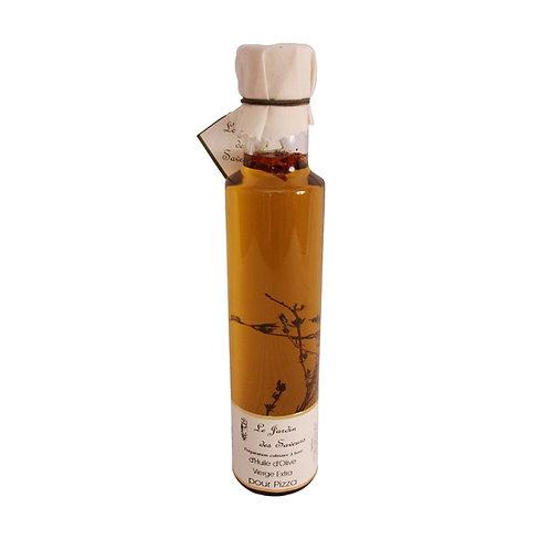 Huile d'olive pesto basilic / Basil pesto olive oil 250ml