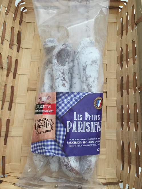 Saucisson Sec / Dry Sausage Les Petits Parisiens 4 UNITS x 175g