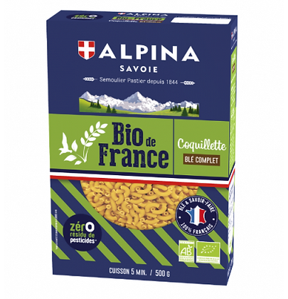 French Bio Coquillette Alpina 500g