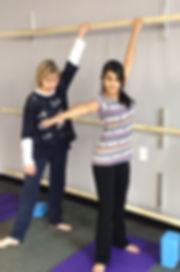 Raising the Bars Yoga - The Stegman Method | Yoga Atlanta Alt Text: Raising the Bars Yoga | Innovative, One-of-a-Kind, Therapeutic Yoga Using Strategically Placed, Multiple Levels of Ballet Barres | Yoga Atlanta