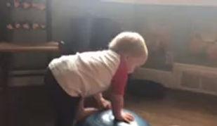Training exercises for grandson