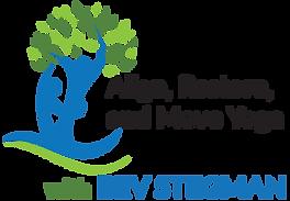Align, Restore, and Move Yoga Logo:  Yoga, Restorative Exercise, Yoga Hiking
