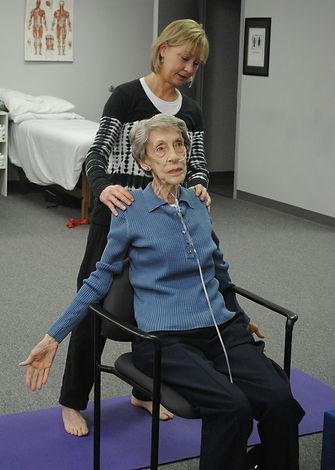 Bev Stegman - Yoga Therapy - Chair Yoga