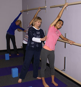 Raising the Bars Yoga | Innovative, One-of-a-Kind, Therapeutic Yoga Using Strategically Placed, Multiple Levels of Ballet Barres | Yoga Atlanta