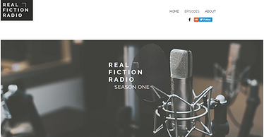 Real Fiction Radio Website Page