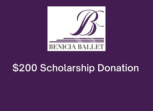 $200 Scholarship Donation