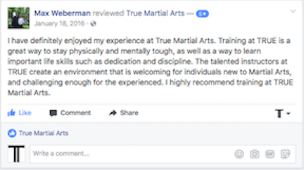 Weberman Facebook Review