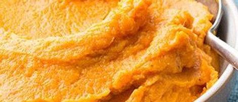 Mashed Sweet Potatoes (per 2 servings)