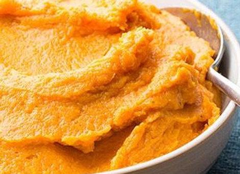Brown Sugar Bourbon Mashed Sweet Potatoes (per 2 servings)