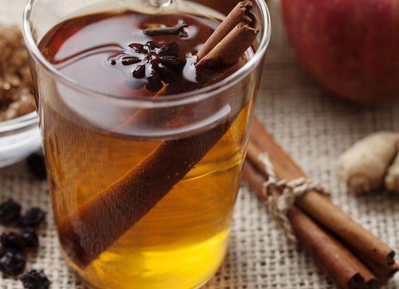 Spiked Hot Cider (2 drinks or half gallon)