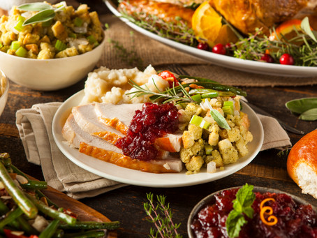 Thanksgiving Takeout to-go and dine-in