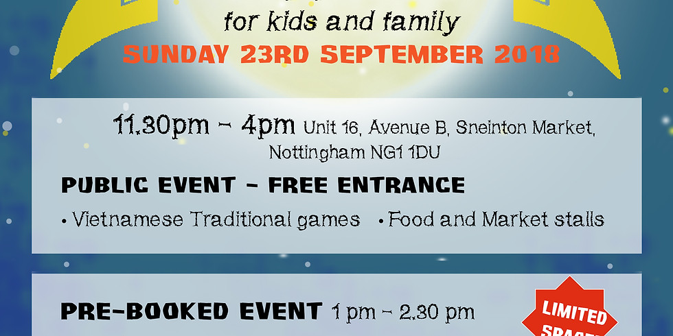 Mid-Autumn Festival- for kids and families
