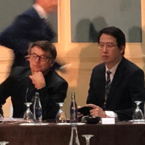 主持英卡思整型會議,受邀為座長,針對各國醫師報告提出個人意見分析。